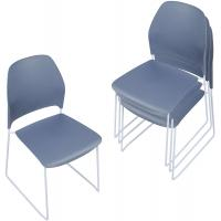 Cheap Stackable Office Plastic Stacking Chairs For Business Plastic Compact Dining Side wholesale