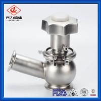 Cheap Clamp End Sanitary Cut Off  Valve Food Beverage Industry Flow Regulating wholesale