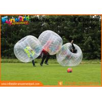 Cheap TPU / PVC Inflatable Zorb Ball / Adult Body Bumper Ball For Entertainment wholesale