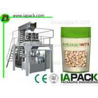 Cheap Laminated Film Premade Pouch Filling Sealing Machine With Zipper wholesale