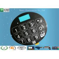 Cheap Blue LCD Window FPC Membrane Switch With 3M468 Back Adhesive Matte Finish wholesale