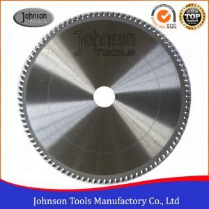 Cheap Aluminum Cutting TCT Saw Blade / Circular Saw Blade 250mm To 500mm wholesale