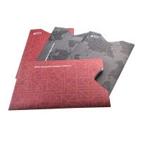 Cheap Anti Theft Rfid Protection Wallets And Sleeves Passport Holders With Silk Printing wholesale