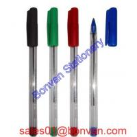 Cheap cheap simple style hotel use plastic ball pen wholesale