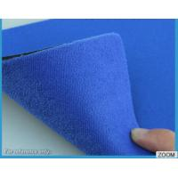 3MM - 7MM SBR Rubber Chemical Resistance With Shiny Terry Nylon Fabric