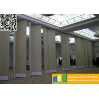 Cheap Easy Operate Conference Room Partition Walls 2000 / 13000 mm Height Multicolor wholesale