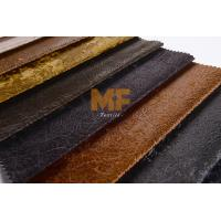 Cheap Flexible Artificial Leather Upholstery Fabric Garment Stretch Upholstery Fabric wholesale