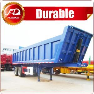 Cheap Best price semi trailer enclosed semi trailer dump truck trailer for sale in dubai wholesale