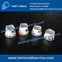 Cheap manufacture excellent quality of two cavities thin walls IML dry fruits containers mould wholesale