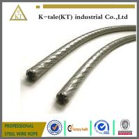 Cheap Plastic Coated PE PVC Covered Stainless Steel Rope wholesale