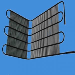 Cheap Black Refrigerator Wire On Tube Condenser / Different Size Fridge Spare Parts wholesale