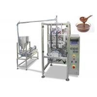 Automatic Stick Chocolate Paste Packing Machine with Filling , Sealing , Wrapping  Function