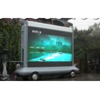 Cheap Electronic P10 IP65 1 R,1G,1B 5000K Led Truck Mobile Billboard Screens For Advertising wholesale