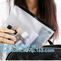 Quality Plastic Packaging Selected By Girls For Cosmetics Zipper Bag With Slider, for sale