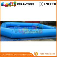 Cheap Circle / Square Large Adult Inflatable Swimming Pool Commercial Inflatable Water Pool wholesale
