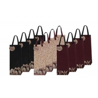 Cheap Customized wine bag by material, printing, size wholesale