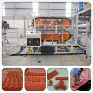 Cheap Heat insulation PVC plastic spanish roof tile for villa house/plastic tile making machine wholesale