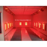 Buy cheap Infrared Heating Spray Booth,Spray booth infrared heating spray paint booth from from wholesalers