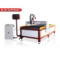 China 1300 * 2500 Inverter Plasma Cutting Machine Desktop Cnc Cutter Ucancam Software on sale