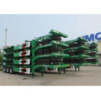 Cheap CIMC 40 ft skeletal container trailer 20 ft container transport truck trailer for sale wholesale