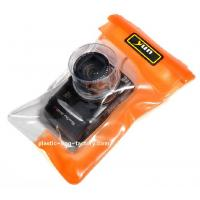 Cheap Reusable Plastic Waterproof Travel Pouch TPU 0.35mm Thickness For Diving / Surfing wholesale