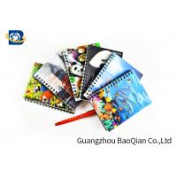 Cheap A4 A5 A6 3D Lenticular Notebook Eco - Friendly Material For Student Stationery wholesale