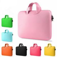 Cheap Shock Absorption Pink Womens Laptop BagCustomed Washable With Carry Handles wholesale