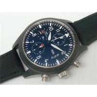 China Replica watches Pilot's Watch Chrono - Automatic Edition Top Gun -7750 movement on sale