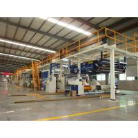 Cheap 0.4 - 0.9 MPa Corrugated Cardboard Making Machine 1600mm Two Layer Stable Operation wholesale