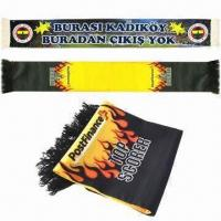Cheap Fan Scarves, Made of Polyester wholesale