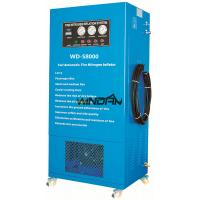 300L Pressure Tank Truck Tire Nitrogen Inflator , Car Tyre Inflator with Electric Control Vacuum Device