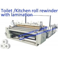 China 2400mm Embossing Toilet Paper Making Machine on sale