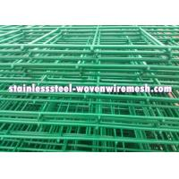 China Low Carbon Steel Welded Wire Mesh Fencing Panels Curved Excellent Corrosion Resistance on sale