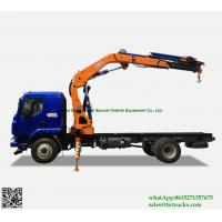 Cheap Custermizing Truck loading crane 8 ton at 2m, truck mounted crane, SQ160ZB4, best knuckle boom    WhatsApp:8615271357675 wholesale