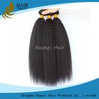 Buy cheap Unprocessed Indian Virgin Hair Extensions Virgin Kinky Straight No Shedding from wholesalers