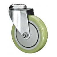 "Buy cheap 5""X1-1/4 Customized PU Caster Wheel With Swivel Kingpin Fitting from wholesalers"
