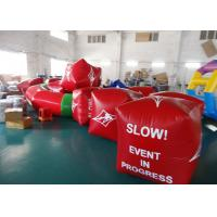 Cheap Water Triathlons Advertising Inflatable Promoting Buoy For Ocean Or Lake wholesale