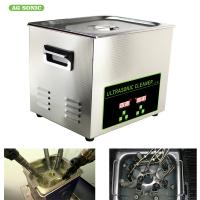 Cheap 200W 10l Ultrasonic Digital Cleaner Tabletop For Automotive Parts Motor Engine wholesale