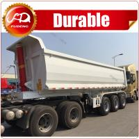 Cheap China Made Hot Sale New Design 3 Axle 80Ton Multi-function Rear Dump Trailer for sale wholesale