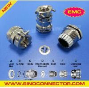 Cheap EMC Cable Glands / EMC Metal Cable Glands / EMC Brass Cable Glands / EMC Metallic Cable Glands / EMC Glands wholesale