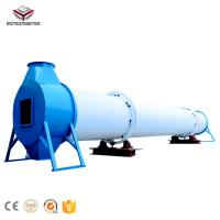 China Biomass Waste Rotary Drum Dryer for Fuels Processing on sale