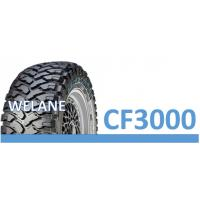 Cheap Low Noise Solid Radial Mud Tires 16 - 20 Inch Size , White Sidewall 4x4 Truck Tires wholesale