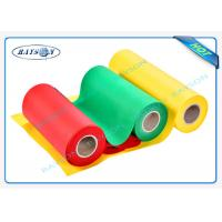 Eco friendly PP Spunbond Non Woven Fabric For Bags / Table Cloth / Pillows
