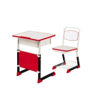 Buy cheap Middle Student Desk Chair Steel School Furniture Metal Child Reading Table from wholesalers