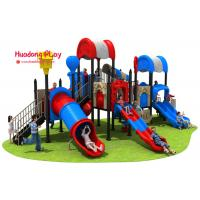 Cheap High Creativity Outdoor Playground Slides Durable UV - Resistant Security Oriented wholesale