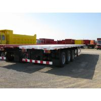 Cheap 3 axle 40ft container flatbed trailer for sale  -CIMC VEHICLE wholesale