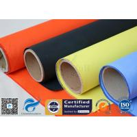 Cheap Fireblanket Fiberglass Silicone Coated Fiberglass Fabric Fireproof Cloth wholesale