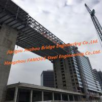 Cheap Modular Connecting Corridor Skyway Steel Structure Fabrication Between Urban High Rise Buildings wholesale