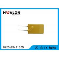 Cheap Thermal PPTC Resettable Fuse Thermistor 0.1-30A Yellow Radial Lead Type For Phones wholesale