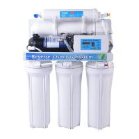 Cheap Manual Flush Domestic RO System 220V 15W For Electrolytic Water Treatment wholesale